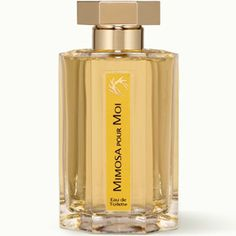 Today, L'Artisan Perfumeur's Mimosa pour Moi. The second scent in my Feb. Olfactif box, and I need to spend more time with it. Mimosa, violet leaves, blackcurrant bud: there was also a bit of almond at first sniff, but that faded (to my disappointment). Very delicate, not a lot of sillage, doesn't last super well on my skin. Will try it for a few days.