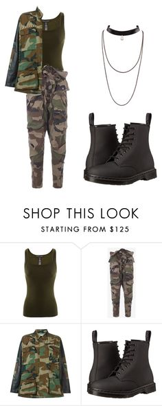 """Untitled #229"" by unstable-viper ❤ liked on Polyvore featuring Ralph Lauren, Faith Connexion, Forte Couture and Dr. Martens"