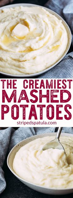 Cream Cheese Mashed Potatoes Recipe | The Best Mashed Potatoes |#mashedpotatoesrecipes#thanksgivingrecipes #potatoes #potatorecipes #mashedpotato