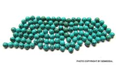 10 pcs 3mm Tibetan Turquoise cabochon round gemstone Natural