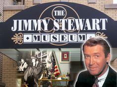 The Jimmy Stewart Museum in Indiana, PA.