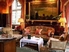 Tea Room at the Milestone Hotel in London