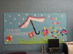 Spring Showers Read for Hours @ Harrington Library by plano.library, via Flickr