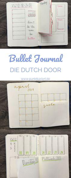 Bullet Journal Dutch Door: Der ultimative Guide! #bulletjournal #dutchdoor