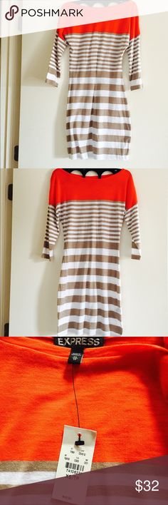 Express long sleeve dress. Size XS/ TP. NWT Express long sleeve dress. Size XS/ TP. NWT Express Dresses