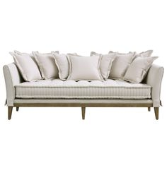 Dedon French Country Coastal Style Light Sand Sofa Sofa