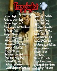 45 Ideas for music playlist trap - Entertainment Best Rap Songs, Good Vibe Songs, Lit Songs, Mood Songs, Rap Music, Music Lyrics, Music Songs, Drake Lyrics, Rap Playlist
