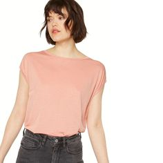 Oooh check out this peach beauty by ArmedAngels. Made of silky tencel.