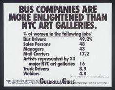 Guerrilla Girls, '[no title]' 1985-90
