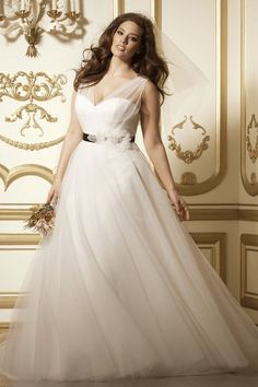Plus size wedding dresses ball gown, every plus size girls dream, a beautiful flowing knee length snow queen dress on her big day. Ball dresses are long...