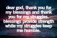 This is great for me to focus on this prayer right now!!! Feeling very humble.