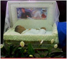Redd Foxx dead in casket