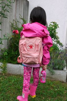 Kånken mini 312 Blush Pink