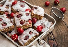 Třešňová bublanina Gingerbread Cookies, Sweets, Cheese, Baking, Breakfast, Cake, Desserts, Recipes, Food