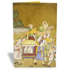 Indian Wedding Mughal Art Card For any upcoming occasion this lovely ethnic card will make for an amazing invitation card. Loose no time and order online. | Rs. 75 | Shop Now | https://hallmarkcards.co.in/collections/shop-all/products/indian-wedding-mughal-art-card | Card Size :20.5*14