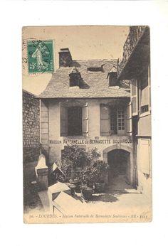 CPA  - LOURDES (65) - MAISON PATERNELLE DE BERNADETTE SOUBIROUS - 1910