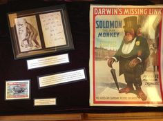 Featured Martin Library of Science Exhibit: Darwin's Decisive Argument, curated by Roger Thomas, John Williamson Nevin Professor of Geosciences.