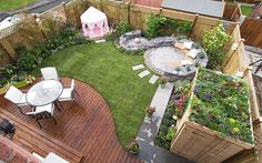 Love Your Garden with Alan Titchmarsh 2014 the finished garden from episode 4