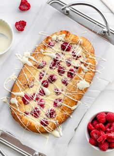 Gluten free and keto friendly flaky pastry with a thick sweet cream cheese and raspberry filling! This danish is just begging to be your next brunch! Low Carb Desserts, Low Carb Recipes, Dessert Recipes, Health Desserts, Cheesy Recipes, Flour Recipes, Dessert Ideas, Baking Recipes, Dinner Recipes