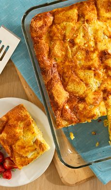 Family-Breakfast-Casserole - Start your morning right with this delicious breakfast recipe!
