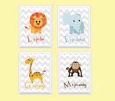 Hey, I found this really awesome Etsy listing at http://www.etsy.com/listing/127366049/safari-nursery-decor-nursery-art-kids