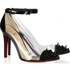christian louboutin pointed toe pumps
