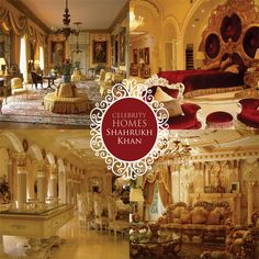 #CelebrityHomes - Here''s a glimpse inside Mannat, the house of Bollywood Baadshah Shah Rukh Khan , so lavishly decorated by his interior decorator wife Gauri.#Mumbai .  #Hero #BestActor #Actor #BestHomes #FridayTreat #TGIF