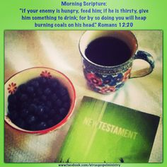 Morning Scripture:  if your enemy is hungry, feed him; if he is thirsty, give him something to drink... #morningscripture #scripturequote #biblequote #instabible #instaquote #quote #seekgod #godsword #godislove #gospel #jesus #jesussaves #teamjesus #LHBK #youthministry #preach #testify #pray #enemies #food #drink #love #gospel #faith