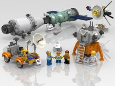 LEGO Ideas - Air & Space Museum: Space Exploration Collection
