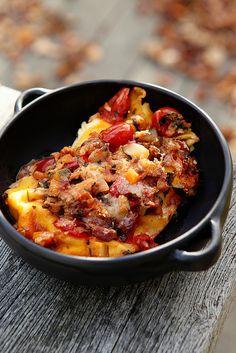 Superfantastischmegalekkere lasagne zonder vlees