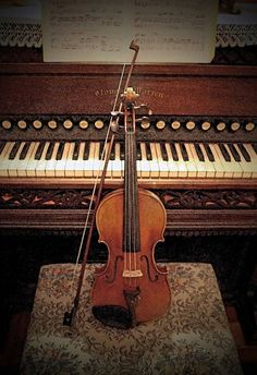 Concerto Masterpiece Violin Organ Piano Fine Art Original Print by JWPhoto
