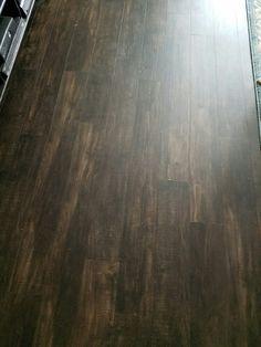 Laminate flooring  Maple Coffee