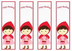 Little Red Riding Hood Bookmarks – Birthday Printable Printable Crafts, Printable Bookmarks, 3rd Birthday Parties, Birthday Party Favors, Red Riding Hood Party, Little Red Ridding Hood, Grandpa Birthday, Baby Prints, Birthdays