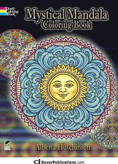 Mystical Mandala Coloring Book same one I have