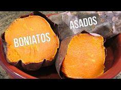 Cocina y Bienestar: Como hacer Boniatos o Camotes Asados al Horno