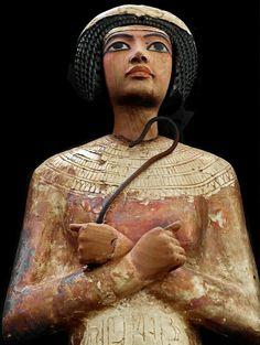 Shabti from the Tomb of Tutankhamun.