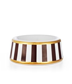 HENRI BENDEL STRIPE SMALL DOG BOWLHENRI BENDEL STRIPE SMALL DOG BOWL