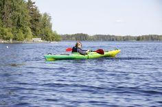 Kayaking in the Saimaa Lake District, Finland Lake District, Finland, Kayaking, Summer, Kayaks, Summer Time