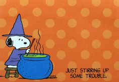 Snoopy witch - super cute