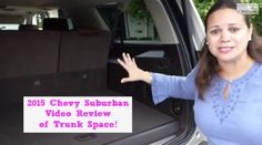 2015 Chevy Suburban Trunk Space Review! Check out one the best features of the updated Chevy Suburban! It's just what moms - busy moms - always hauling stuff - need!