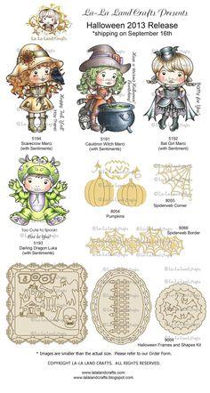 The Paper Cove: La-La Land Crafts Halloween Release SHOWCASE