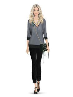 Rebecca Minkoff zip clutch