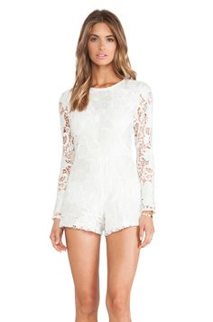 Socially Conveyed via WeLikedThis.co.uk - The UK's Finest Products -   IZU LACE ROMPER http://welikedthis.co.uk/?p=7392