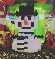"""13 mentions J'aime, 2 commentaires - ✯*ℋℯi✭。ℍડ (@heihearthsz______) sur Instagram: """"#christmasiscoming #snowman #⛄ #nanoblock #クリスマス"""""""