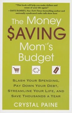 BOOK REVIEW | The Money Saving Mom's Budget by Crystal Paine