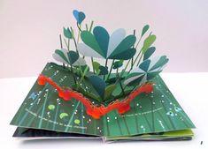 Le jardin des papillons - livre animé de philippe Huguer Pop Up Art, Arte Pop Up, Diy Paper, Paper Art, Paper Crafts, Boite Explosive, Baby Quiet Book, Decoupage, Pen Pal Letters