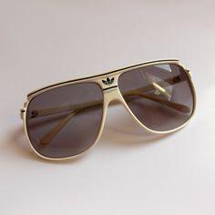 Vintage Adidas Sunglasses Retro sunglasses by VintageItemsPlace
