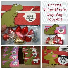Cricut Valentine's Day Bag Toppers