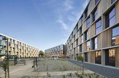 Monash Student Housing, BVN Architecture, Melbourne, dormitory, green dormitory…