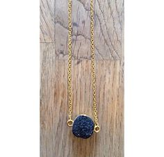 Beautiful Black druzy Necklaces £7 each now available at www.WeAreVR.co.uk #handmade #jewellery #necklaces #chakra #healing #crystals #gems #gemstones #boho #bohemian #silver #fashion # costumejewellery #fashionjewellery #style #grunge #90s #stylist #wearevr